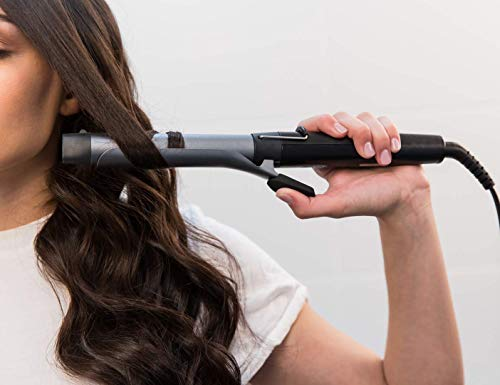 Remington Pro Soft Curl CI6525 - Rizador de Pelo, Cerámica y Titanio, Pinza de Pelo de 25 mm, 10 Ajustes, Negro