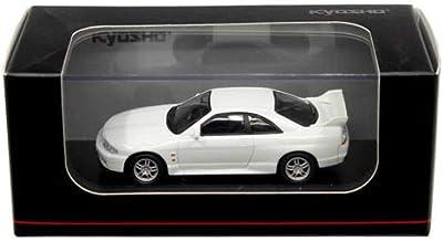 NEW DIECAST TOYS CAR KYOSHO 1:64 NISSAN SKYLINE GT-R BCNR33 WHITE KS07047A5