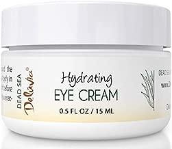 Eye Cream Moisturizer, Under Eye and Around Eye Hydrating Eye Cream, Organic Aloe Vera, Vitamin E, Rosehip Seed Oil for Dry Skin and Wrinkles.(.5 Oz) Skin Care by Deluvia