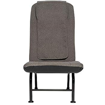 HoMedics Shiatsu Recline Massaging Chair Lounger 3 Massage Zones Soothing Heat Intensity Control Programmed Controller Adjustable Reclining