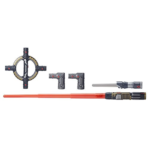 Star Wars BladeBuilders Spin-Action Lightsaber Rogue One Juguete, Multicolor (Hasbro B8263)