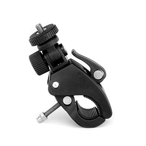 Grifiti Nootle Quick Release Pipe Clamp 1/4 20 Thread for Cameras and Nootle Mounts Works for Tripods Music Microphone Stands Any Pipe Bar 1.5 Inches Motorcycles, Bikes