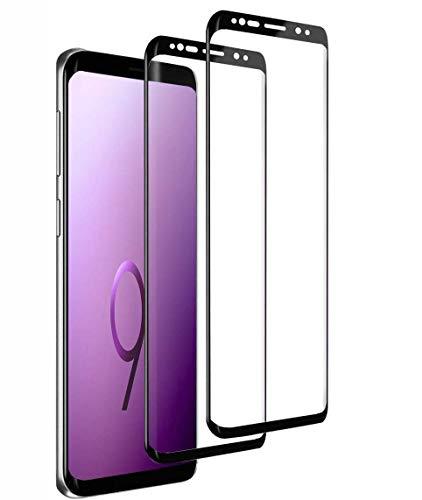 Schutzfolie kompatibel mit Samsung Galaxy S9, [2 Stück] 9H Härte 3D Volle Abdeckung Panzerglasfolie,Anti-Kratzen Anti-Öl Blasenfrei HD Displayschutzfolie für Galaxy S9