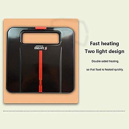 750W-2-in-1-Sandwich-Toaster-mit-Antihaftplatten-Grillmaschine-Bratpfannen-Toaster-Edelstahl-ideal-zum-Fruehstueck