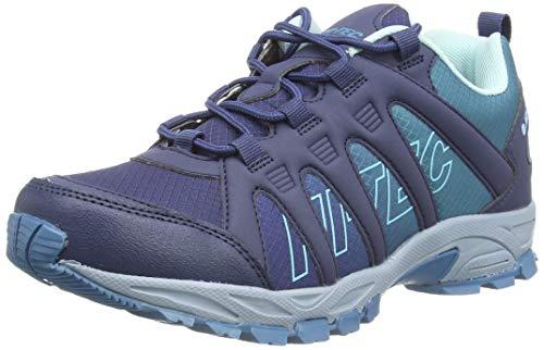 Hi-Tec Warrior Womens Walking Shoe, Insignia Blue, 6 UK
