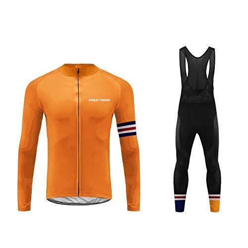 Uglyfrog ESHDZ31 2019 Hombres MTB Chaqueta de Camiseta de Ciclistas Ropa Equipo Invierno Térmico Respirable Cómodo Manga Larga Ciclismo Maillots