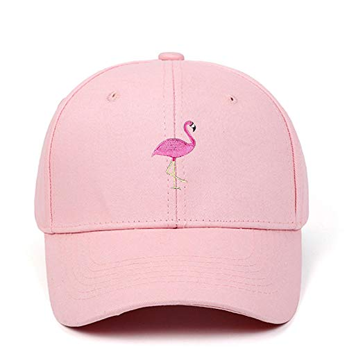 Baseball Kappe Flamingo Stickerei Baseball Cap Mode Männer Frauen Snapback Einstellbare Sport Angeln Hip Hop Sonnenhut Pink