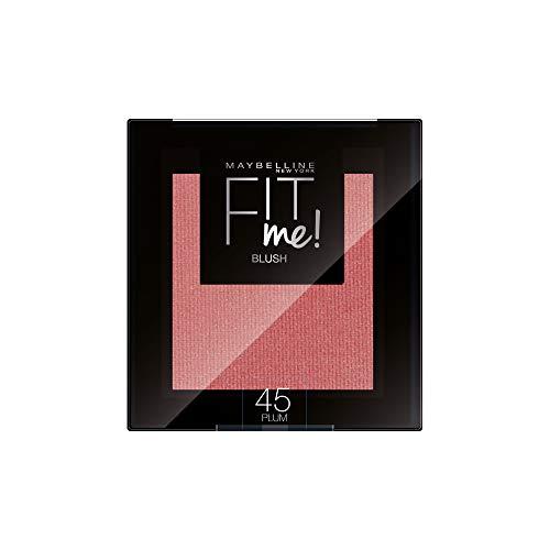 Maybelline New York Fit Me! Blush 45 Plum - Blush (3 unidades de 4,5 gramos)