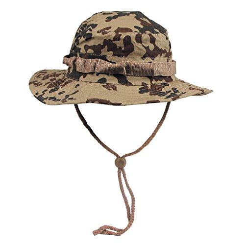 MFH Buschhut US mit Kinnband GI Boonie Rip Stop,  XL(61),  Beige - Camouflage