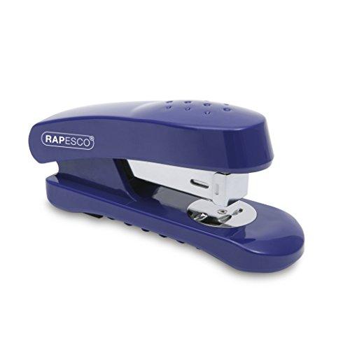Rapesco Snapper - Grapadora de 20 hojas de capacidad, usa grapas 26/6 y 24/6 mm, color azul