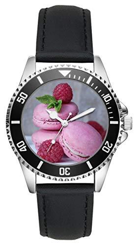 KIESENBERG Uhr - Bäckerei Bäcker Macaron Geschenk Artikel Idee Fan L-4857
