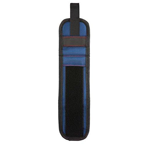 KUNSE Fuertes Pulseras Magnéticas Trabajo Recibir Brazalete Adsorción Tornillo De Reparación Herramientas-Azul