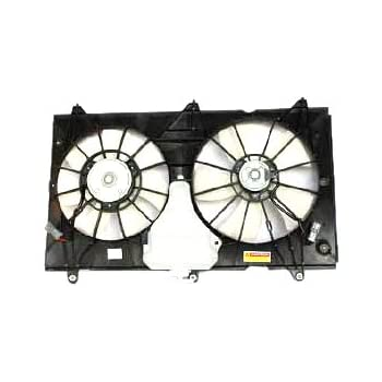 Dual Radiator and Condenser Fan Assembly Right TYC fits 18-20 Honda Accord