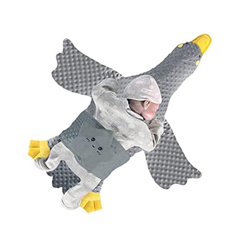 WSTERAO Muñecas de Animales Peluche de Ganso Peluche de Ganso Almohada de Juguete para bebé diseño de Animales de Peluche, para niños y niños, Regalo de bebé para niños, niñas y niños