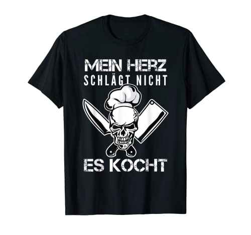 Koch, Köchin, Köche, Küchenchef Design I Chefkoch Motiv T-Shirt