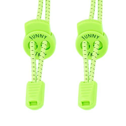 Funny Tree® Speed-Locks (Nicht reflektierend neongrün)