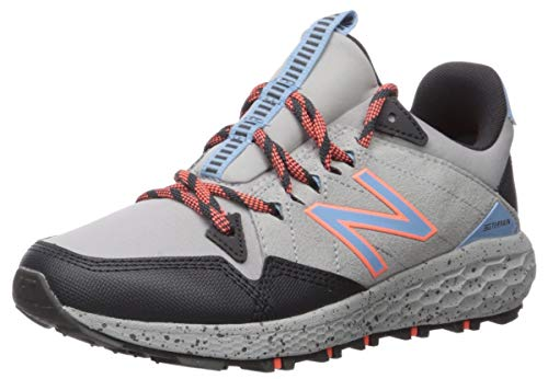 New Balance Women's Fresh Foam Crag Trail V1 Sneaker, Marblehead/Magnet/Mango, 6.5 W US