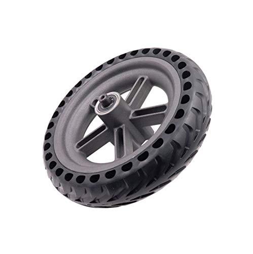 8.5 pulgadas for Xiaomi Mijia M365 Scooter eléctrico Accesorios Wheel Boss neumático de la rueda integrado 5 Agujero de nido de abeja sólido neumático de la rueda (Marco de la rueda del neumático de l