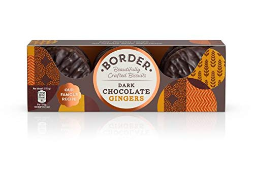 Border Dark Chocolate Ginger 150 gr