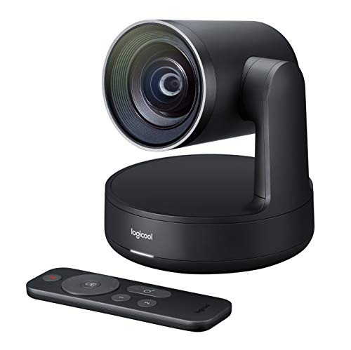 Logitech Rally Plus Sistema de Video Conferencia Group Video conferencing System 16 Personas(s) ethernet - Sistema de videoconferencia (4k Ultra HD, 15x, 720p, 1080p, 1440p, 60 pps, 4, 5 m, -27 db).