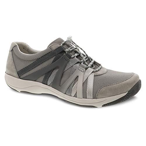 Dansko Women's Henriette Grey Comfort Sneaker 7.5-8 Wide US
