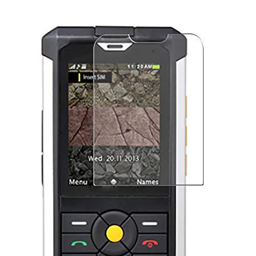 Vaxson 3 Stück Schutzfolie, kompatibel mit Cat B100, Bildschirmschutzfolie TPU Folie Displayschutz [nicht Panzerglas Hülle Hülle ]