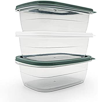 3-Pack Pedeco Bento Reusable Food Container Lunch Box