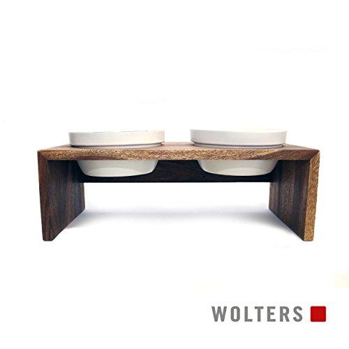 Wolters | Doppelnapf Gohan teak | 1,0 l