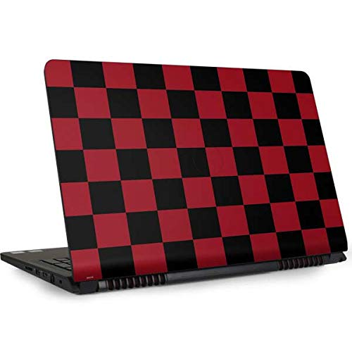 Skinit Decal Laptop Skin for Inspiron 15 5000 (5577) - Officially Licensed Originally Designed Red and Black Checkerboard Design