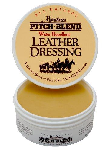 Montana Pitch-Blend All Natural Leather Dressing 4oz Jar