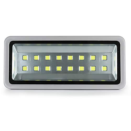 Gopretty 800W 80000LM Outdoor Flood Lights Waterproof IP66 Security Lamp Super Brightest 6000K Day White 16 LEDs IP66