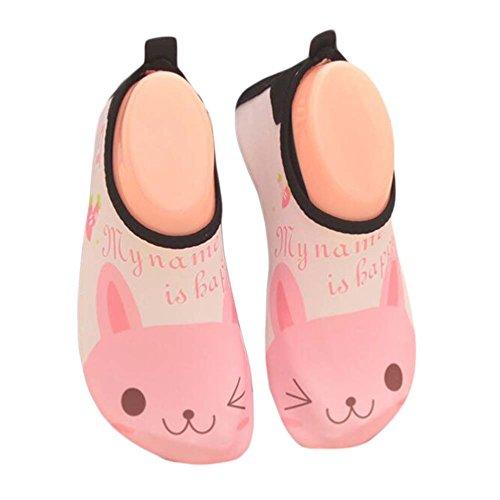 Blancho Chaussures Enfants d'eau Douce Chaussette Chaussures Sandales Chaussures de Plage Chaussures de Sol