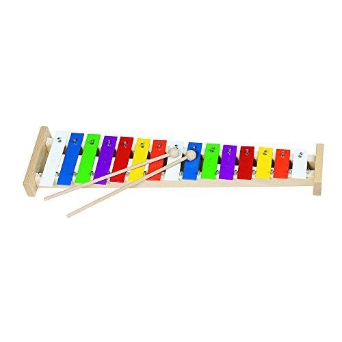 Goki 61998 - Musikinstrument - Xylophon mit 15 Tönen