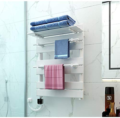 LYZPF badkamerradiator, waterbestendig, constante temperatuur, gemonteerde planken, handdoeken, elektrische radiatoren, verwarmde handdoekhouder, Left-Line