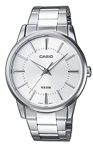 Casio Collection Herren Armbanduhr MTP-1303PD-7AVEF, Silber