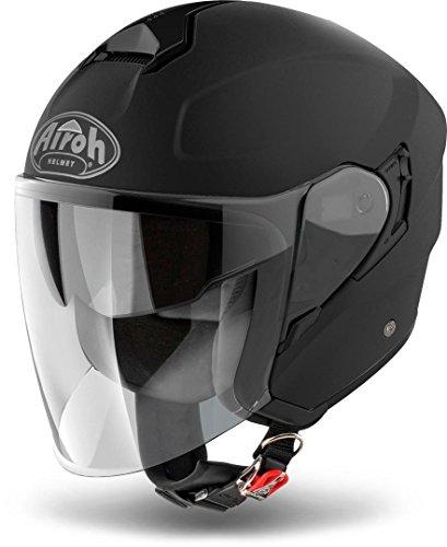 Airoh JET HELM Motorradhelm HUNTER COLOR BLACK MATT S