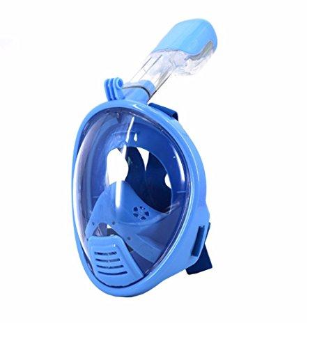 sendream Vollgesichts Atmung Schnorchelmaske f¨¹r Erwachsene und Jugendliche. Revolution?re voll trockenen Tauchermaske mit Anti-Fog-und Anti-Leak-Technologie