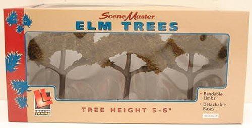 Life Like 1980 SceneMaster Large Elm Trees (3) by Life Like