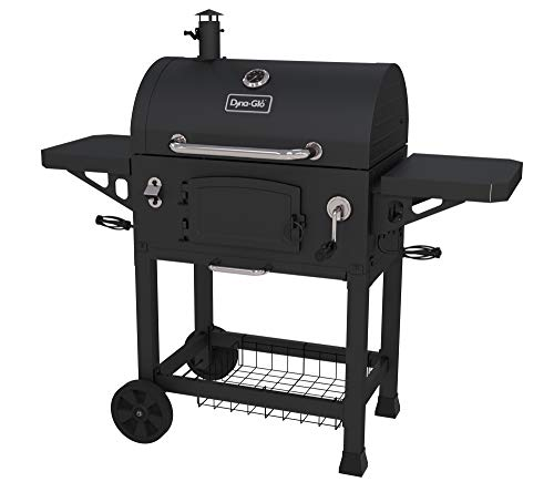 Dyna-Glo DGN486DNC-D Heavy Duty Charcoal Grill, Large, Black