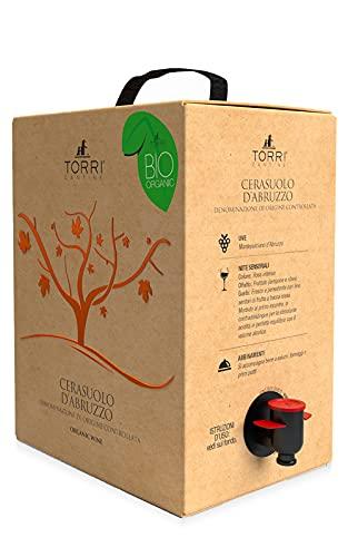 Vino Rosato Bag in Box Cerasuolo d'Abruzzo DOC Biologico 5 Litri