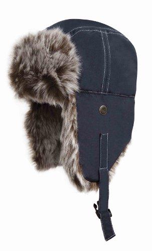 Result - bonnet sherpa classique RC56 - bleu marine - taille L - mixte homme/femme