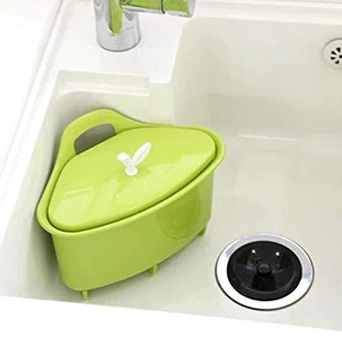 Juegos de colador / colador y colador de cocina 2 en 1, recipiente y colador de plástico grande para lavar, Ahorro de espacio, para frutas Limpieza de vegetales Mezcla de lavado / 9.45x6.1x6.7inches