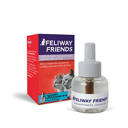 FELIWAY Friends – Anti Conflit pour Chat - Recharge 48 ml