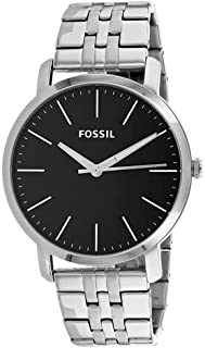 Fossil Luther Stainless Steel Analog Display Quartz Watch BQ2312I