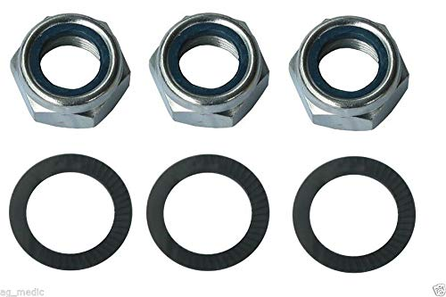 Maschio Jolly Finish Mower Blade Nut and Washer Codes 00554201/00553616