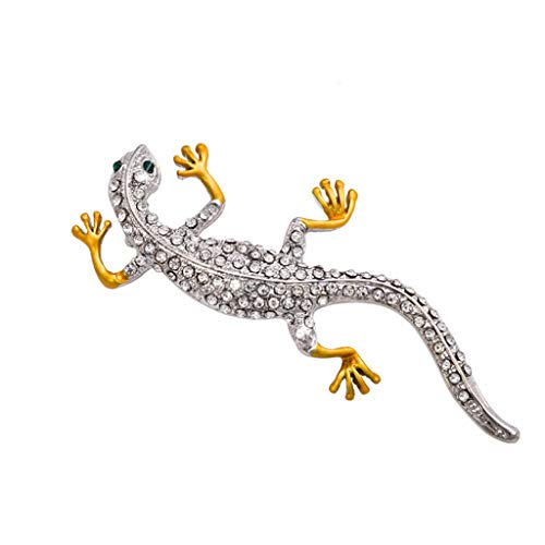 PULABO Brooches for Women Men's Navy Ship Wheel Brooches Pins Corsages Jewelry Marine Sailor Crystal Delicate Crystal Gold Gecko Lizard Brooch Pins Silver ReliableQuality facilitate