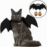 Amasawa Haustiere Fledermausflügel,Halloween Haustier Kostüm Fledermaus,Haustiere Kostüme...