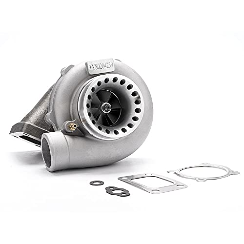 maXpeedingrods New GT35 GT3582 GT3582R Turbo Charger Anti-Surge Compressor AR.70/63 600HP, Universal Turbocharger External Wastegate T3 Flange for 3.0L-6.0L Engines Water + Oil Cooled