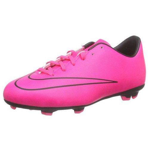NIKE Mädchen MERCURIAL VICTORY V FG Fußballschuhe, Pink Pink, 37.5