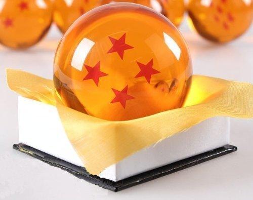 1:1 DBZ DragonBall Z Crystal Ball Durchmesser ca.7cm Dazzling 4-Star-Kristallkugel by COHO